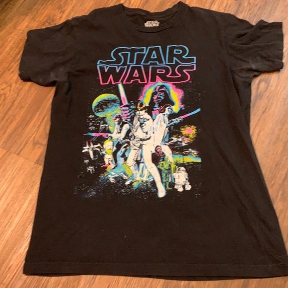 EUC Neon Star Wars T-shirt